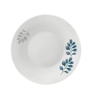 Piatto Fondo Botanica Blu