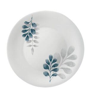 Piatto Piano Botanica Blu 1