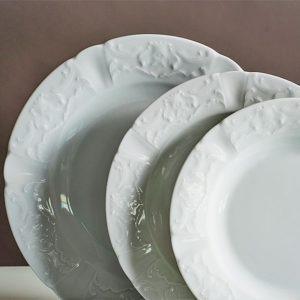 29. CRYPORT 5300040 Dinner Set Regina White 2