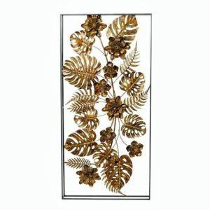 τοιχου χρυσο φυλλα σε κορνιζα 102χ50εκ 1000x1000 1