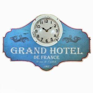 τοίχου MDF Grand Hotel γαλάζιο 33x50cm by Espiel® LOG232